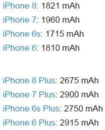 Photo of Аккумуляторы iPhone 8 и iPhone 8 Plus имеют самый наименьший объем, чем когда-либо