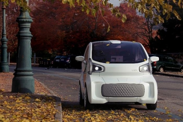 """LSEV: первый в мире серийный электрокар с """"напечатанным"""" кузовом"""