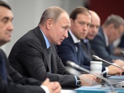 Путин собирает совещание по экономической ситуации в стране