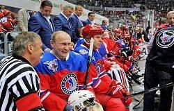 Путин участвует в гала-матче Ночной хоккейной лиги