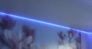 Что такое парящие натяжные потолки