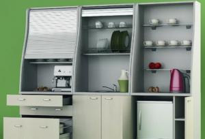 Мини-кухня должна иметь место в каждом офисе