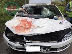 Photo of Полицейский разорвал пешехода своим автомобилем и поехал спать