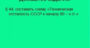 Техническая отсталость СССР