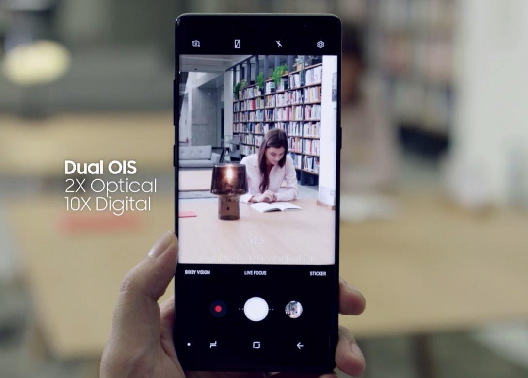 Photo of Note 8 первый смартфон с оптической стабилизацией на обеих камерах