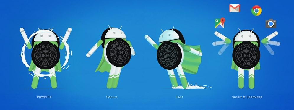 Photo of Google Android 8.0 Oreo