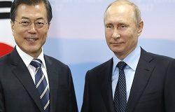 Владимир Путин встретился с лидером Южной Кореи
