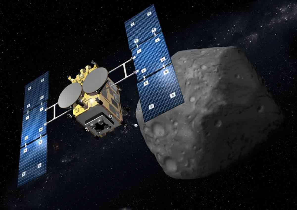 Фото: астероид Рюгу