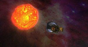 NASA солнце