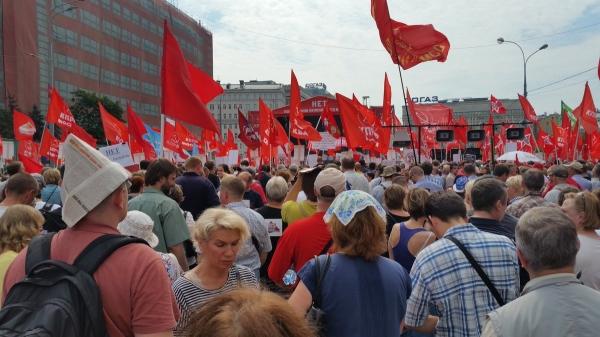 Photo of Организатора митинга против реформы обвинили в том что он не мешал выкрикивать «Путин вор»