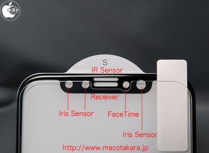 iPhone X появиться в продаже в октябре-ноябре со сканером радужки глаза