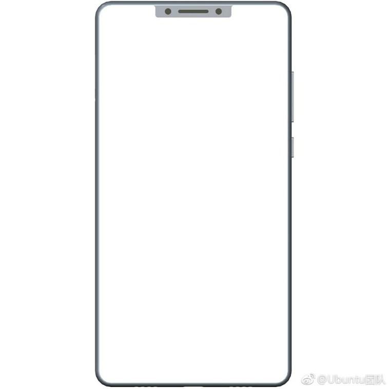Дизайн Xiaomi Mi Mix 2 появился на просторах китайской социальной сети