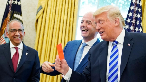 Photo of Трамп получил красную карточку от главы «ФИФА»