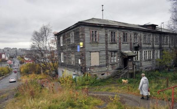 Photo of Очередные проблемы в России, крыши съезжают, дома рушатся