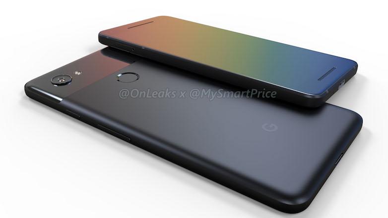 Google Pixel 2 и Pixel XL 2 появились на рендерах у @OnLeaks