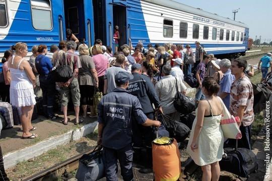 Как России относиться к бегству жителей с Украины?