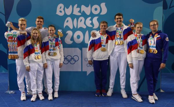 Сборная России впервые в истории выиграла Летнюю юношескую Олимпиаду