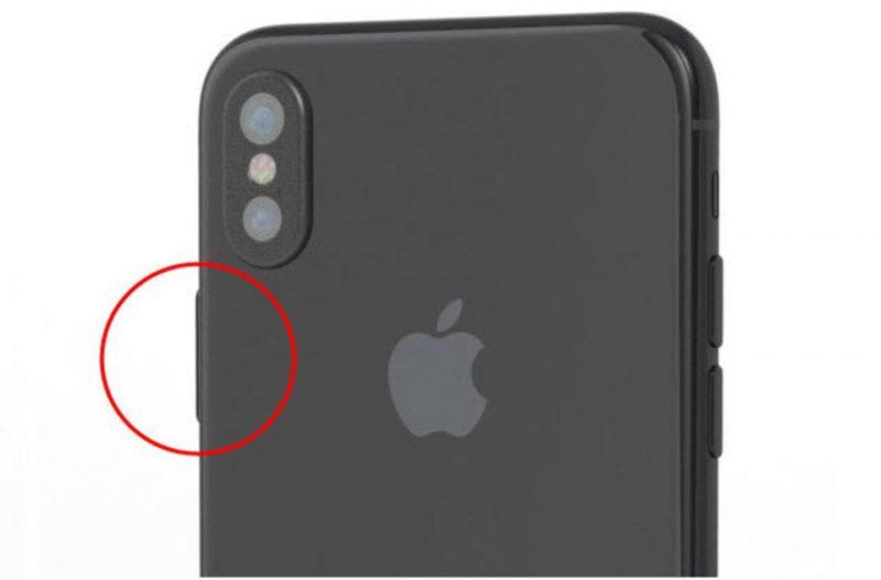 Forbes опубликовал фото iPhone X с увеличенной кнопкой включения