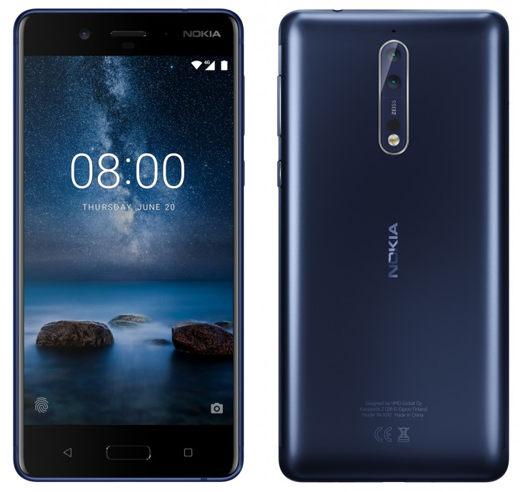 Evan Blass раскрывает флагман Nokia 8