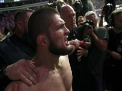 Нурмагомедов набросился на команду Макгрегора и начал массовую драку