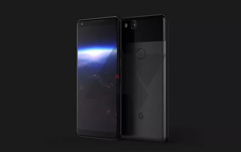 Так будет выглядеть Pixel XL 2 от Google