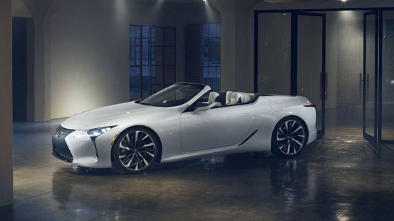 Photo of Кабриолет Lexus LC пока лишь концепт… но так было и с купе LC
