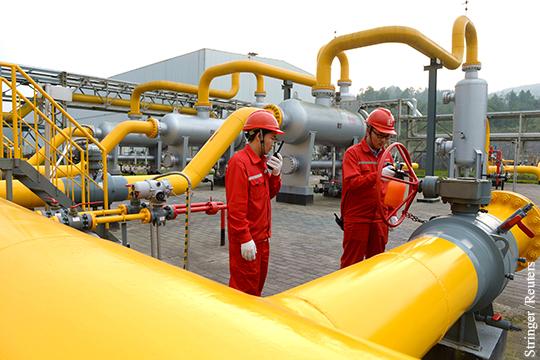 Китай создал серьезные проблемы для Газпрома в Европе0