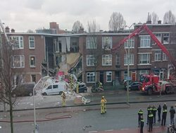 В центре Гааги прогремел сильный взрыв0