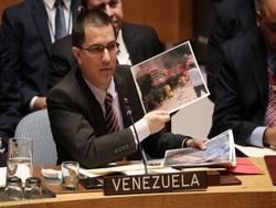 Венесуэла рассказала о содержимом сожженных на границе грузовиков0