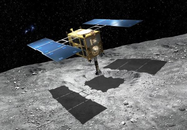 Photo of Hayabusa 2 готовится к отбору образца грунта с астероида Рюгу