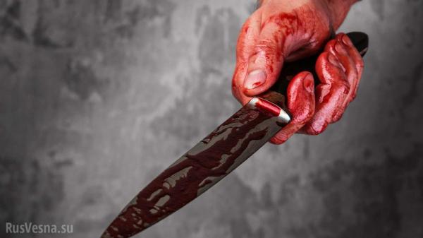 Мужчина с ножом ранил в горло полицейского возле здания УВД Нижнекамска0