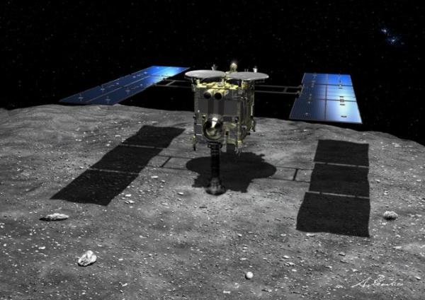 Японский зонд «Хаябуса-2» произвёл взрыв на астероиде Рюгу для создания кратера2