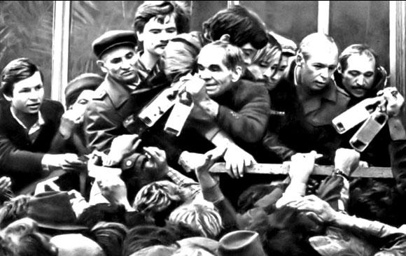 Советская очередь в зеркале советского кино 1981 года0