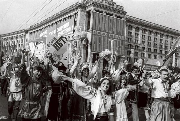 Страшный Первомай в 1986 году1