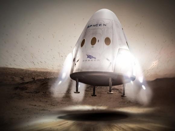 Космический грузовик Dragon успешно вернулся на Землю0