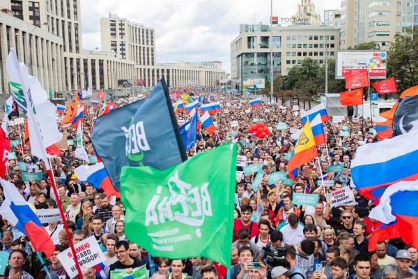 Photo of Вокруг выборов в Мосгордуму в Кремле увидели «классический оранжевый сценарий»