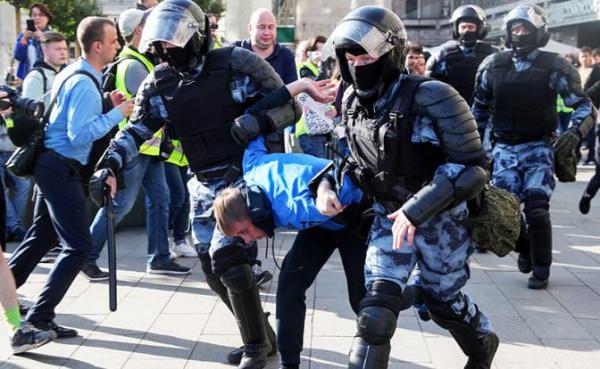 Акции в столице 3 августа подтвердили курс на жесткое подавление оппозиции0