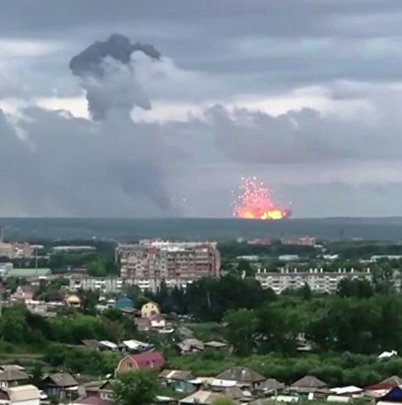 Число пострадавших от взрывов в Красноярском крае возросло до семи0