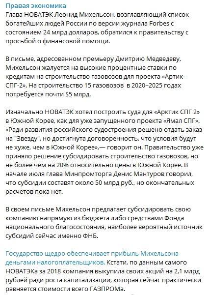 Как кровавый режим грабит российскую экономику.1