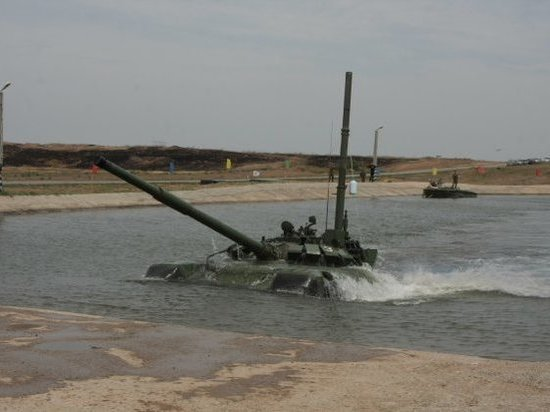 Инструктор утонул в танке на полигоне в Забайкалье0