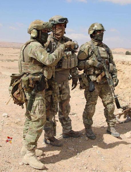 Спецназ России в Сирии «перестал прятаться»2