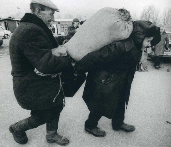 Ужасающая нищета советской провинции12
