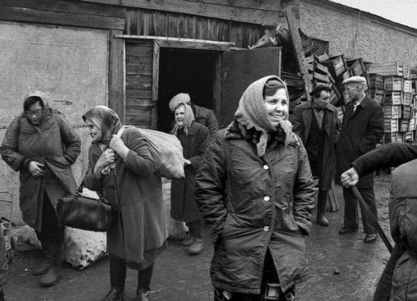 Ужасающая нищета советской провинции8
