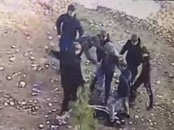 Российские подростки толпой набросились на сверстника и сняли избиение на видео0