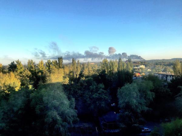 В Донецке взорвался склад боеприпасов3