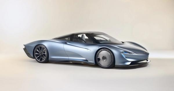 Photo of В Великобритании сделали McLaren Speedtail из тысячи деталей