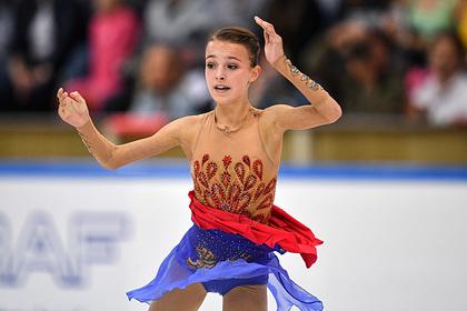 Photo of 15-летняя российская фигуристка выиграла короткую программу на этапе Гран-при