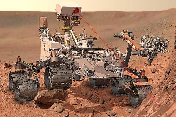 Марсоход NASA Curiosity обнаружил свидетельства существования на Марсе древних озер0