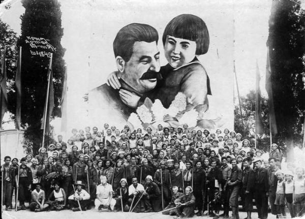 Спасибо товарищу Сталину за наше счастливое детство!5