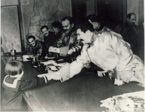 Спасибо товарищу Сталину за наше счастливое детство!2